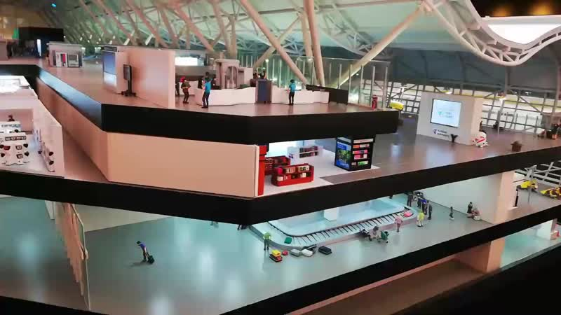 Small worlds Kansai Airport terminal 2