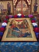 #hramchel ДОРОГИЕ БРАТЬЯ И СЕСТРЫ! Сегодня праздник - Рождество Пресвятой Владычицы нашей Богородицы