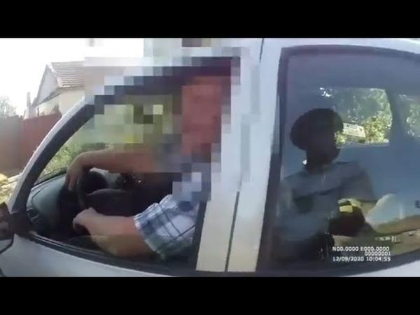 На Ставрополье водителя дебошира пришлось заковать в наручники