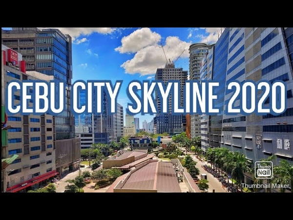 Cebu City 2020 Skyline Philippines 🇵🇭