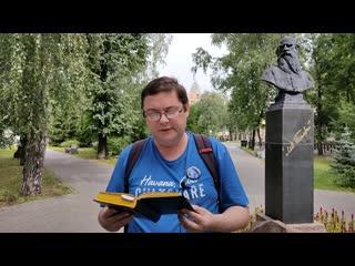 """Эдуард Учаров читает стихотворение А.Фета """"Какая грусть, конец аллеи..."""""""
