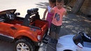 Kids ride on Power Wheels Ford Ranger 12v Никола ремонтирует BMW M3