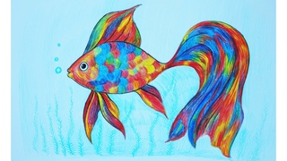 ArtBerry How to draw a fish Art School