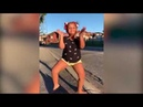 Ivanah Campbell dancer | Young girl Ivana shows off her impressive dance moves on the street