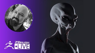 3D Model an Alien With Me ! - Miguel Guerrero - ZBrush 2020