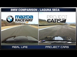 Project CARS vs Real Life - BMW @ Laguna Seca / What is Real?