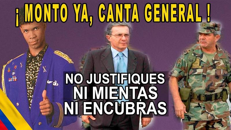 Mario Montoya dice ser inocente en LA JEP pero tenemos quién lo culpe AY El General en su laberinto