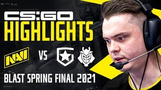 Хайлайты NAVI vs Gambit, G2 на BLAST Premier Spring Final 2021