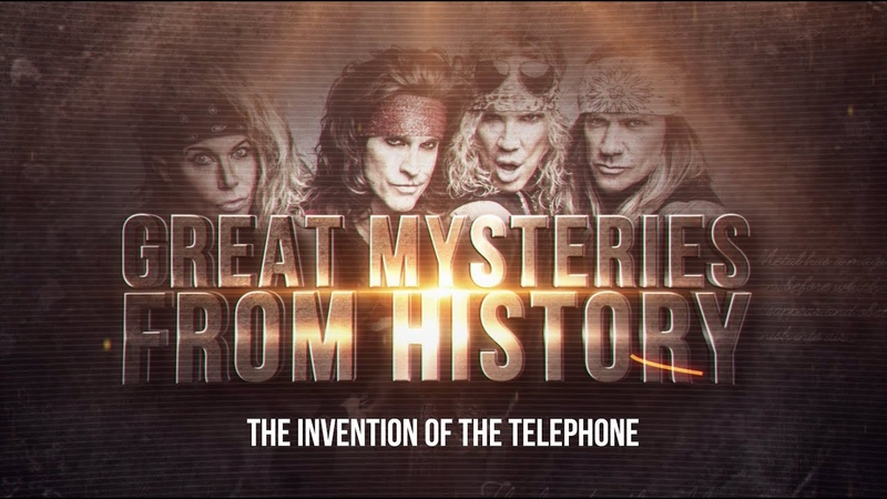 Steel Panther TV presents Great Mysteries from History The Invention of the Telephone