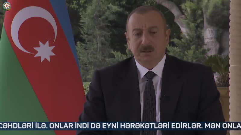 Жёсткое интервью Алиева о ситуации в Карабахе и государстве Армения