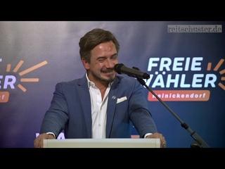 Demokratie versus Sozialismus  Wahlkampfrede des Berliner Abgeordneten Luthe (Freie Whler)