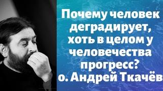 Почему человек деградирует, хоть в целом у человечества прогресс? о. Андрей Ткачёв