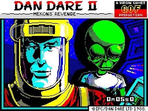 ZX Spectrum Longplay 139 Dan Dare II Mekons Revenge