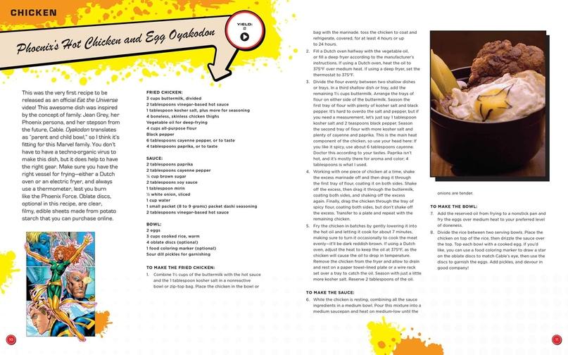 Паста с языком Венома и гоблинские бомбочки — кулинарная книга вселенной Marvel, изображение №5