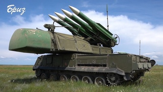 Українські «Буки» відбили авіаційний удар умовного противника на адмінмежі з Кримом