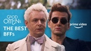 Good Omens BFFs Aziraphale and Crowley Prime Video