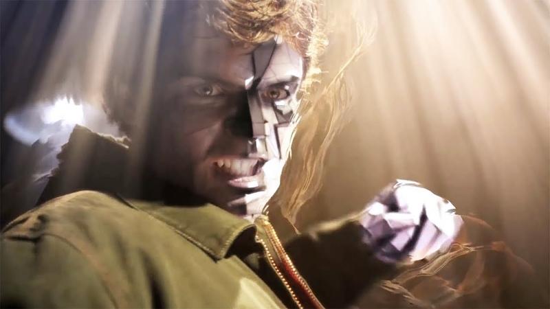 Кларк Кент против Бизарро часть 2 Тайны Смолвиля 7 сезон 1 серия Сериальный маньяк Супермен проти