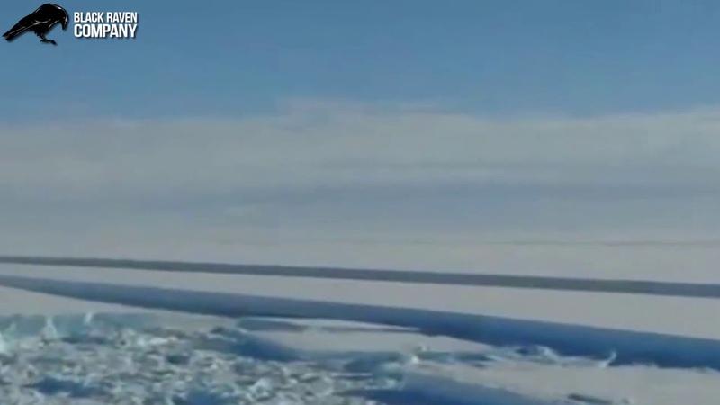 Кто режет лед в Антарктиде