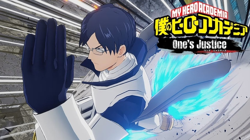 Tenya Iida My Hero Academia One's Justice Online Gameplay