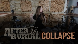 After The Burial - Collapse (Drum cover by Katya Rogalinskaya)