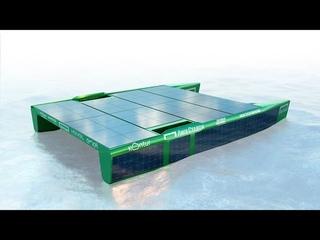 """Презентационный ролик проекта """"Катамаран NOVA - пересечение Тихого океана на энергии солнца""""."""