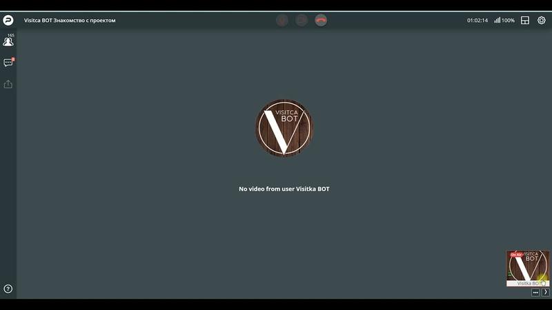 Вебинар от разработчика VIZITCAbot Николая Новицкого 14 09 21