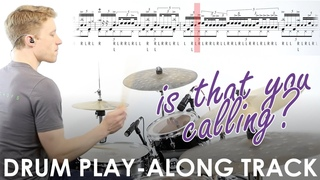 'Is That You Calling'  Free Jazz Rock Fusion Drum Play-along Track and Transcription
