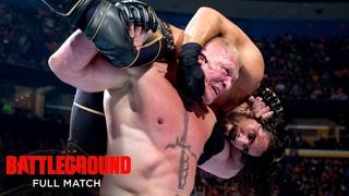 [#My1] Seth Rollins vs. Brock Lesnar - WWE Title Match: WWE Battleground 2015