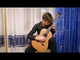 1305.  Дмитриев Егор  (15 лет)/М.Чигинцев «Глядя в облака».