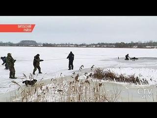Два рыбака одновременно погибли на тонком льду в Витебской области: подробности трагедий