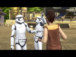 The Sims 4 Star Wars™: Путешествие на Батуу