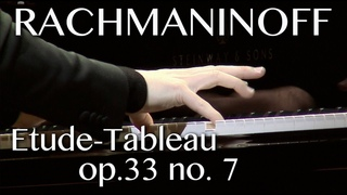 Dmitry Masleev: Rachmaninoff - Etude-tableau  No.7 in E-flat major