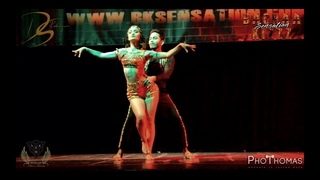 Cornel & Rithika | Bachata Fusion show | BachhaaKizz Sensation 2018