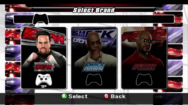 AGT WWE SmackDown vs Raw 2008 РЕЖИМ ИГРЫ ЗА ГЕНЕРАЛЬНОГО МЕНЕДЖЕРА GM Mode Let's Play