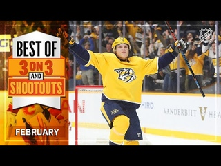 Best 3-on-3 Overtime and Shootout Moments from February   NHL