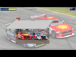 Virgin Australia Supercars Championship: OTR SuperSprint The Bend, Гонка 2,  [A21 Network]