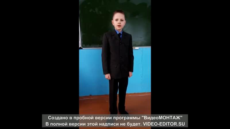 Викулов Николай 10 лет ГБОУ НШ с. Арзамасцевка