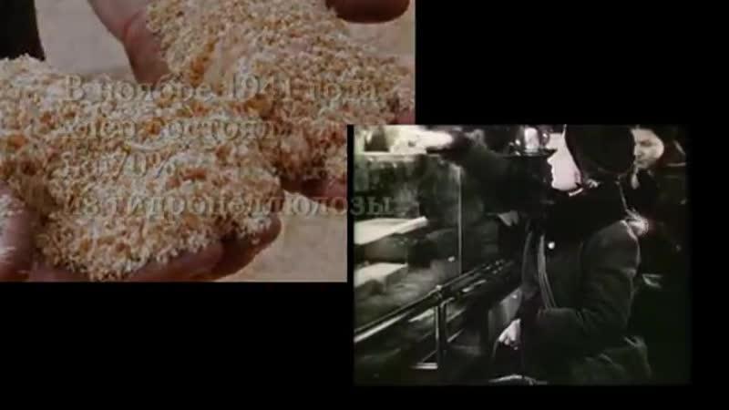 Видео хлеб блокады