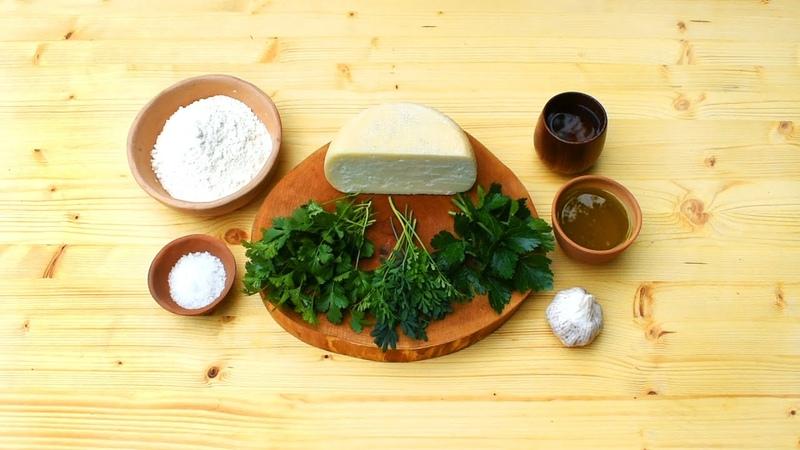 Ancient Roman Farmer's Meal Flatbread and Moretum