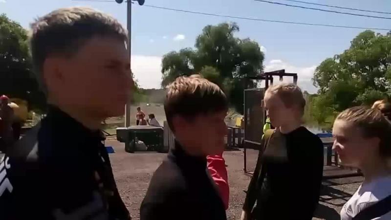 Городские соревнования юных спасателей ЧС техногенного характера