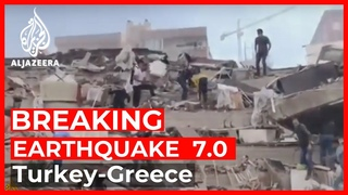 Breaking News: Earthquake of magnitude 7.0 hits western Turkey, Greece