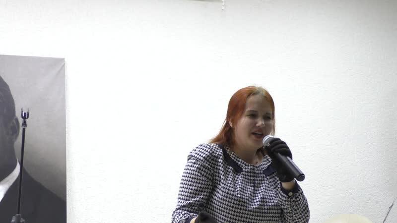 Виктория Ермолова Ви Звуколёт финал 04 10 2020 Библиотека им Есенина