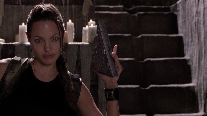 Лара Крофт Расхитительница гробниц Lara Croft Tomb Raider 2001 фэнт