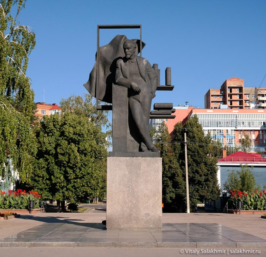 Памятник Ленину, Самара 2020