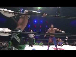 CIMA & Ricochet vs PAC & Dragon Kid - Open The Twin Gate Championships - Dragon Gate