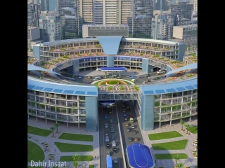 Концепт общественного транспорта будущего -