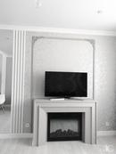 #zolotoe_sechenie68 🔸Дизайн интерьера🔸архитектура🔸ландшафт🔸   ◣ Реализация Гостиная с камином 15 кв.