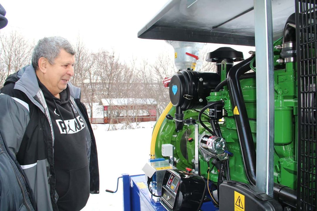 Фермерское хозяйство Валерия Чернова приступило к реализации федеральной программы «Развитие мелиорации земель сельскохозяйственного назначения России»