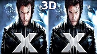 X Men Game  3D video 1 SBS VR box google cardboard