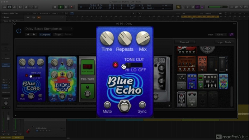 MacProVideo - Logic Pro FastTrack 111 The Delay Reverb Plugins